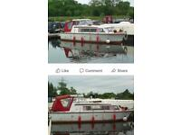 6 berth cruiser boat
