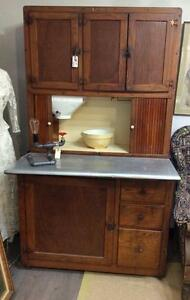 1900's Hooser Kitchen Work Station
