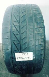PNEU ÉTÉ USAGÉ / SUMMER USED TIRE 275/40R19 GOODYEAR EXCELLENCE  RUNFLAT (1 SEUL DE DISPONIBLE)