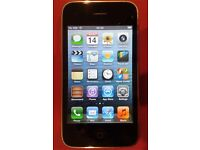 Apple iPhone 3GS 8Gb Unlocked + Charger + Retro-tape case