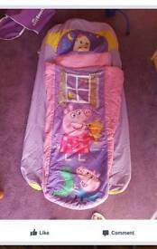 Peppa pig & toy story ready beds