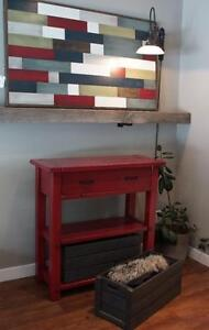 Entryway Furniture: Console Table ($745), Armoire, Bench & More! LIKEN By LIKEN Woodworks