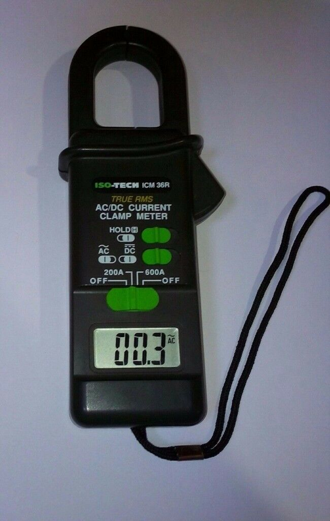 iso-Tech icm 36R AC/DC Current Clamp Meter