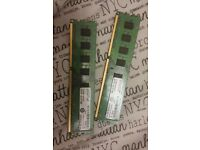 8GB ddr3 ram / 1333 ( 2 x 4GB) 240 pin crucial memory sticks nice ram