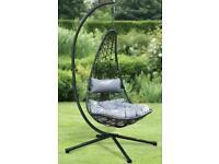 BRAND NEW New York Garden Hanging Egg Chair