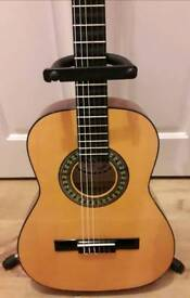 Palma Acoustic guitar- MG945 3/4 size. Incs stand.Just re-strung and refurbed. Fab condition.