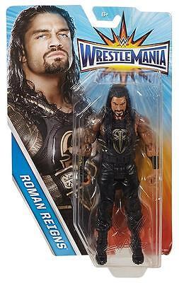 ROMAN REIGNS WWE Mattel 2017 Wrestlemania 32 Action Figure Toy - Mint Packaging