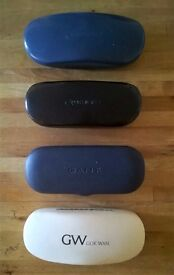 Free Specsavers, Gant and Gok Wan designer hard glasses spectacles cases