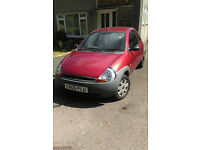 Ford KA Red for sale, low price, only 46k miles.