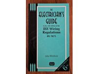 **The Electrician's Guide to the 16th Edition of the IEE Wiring Regulations by John Whitfield**