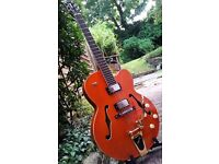 Tanglewood TSB49 hollow body guitar with Bigsby