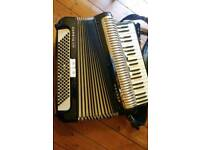 Hohner ladies size 120 bass piano accordion
