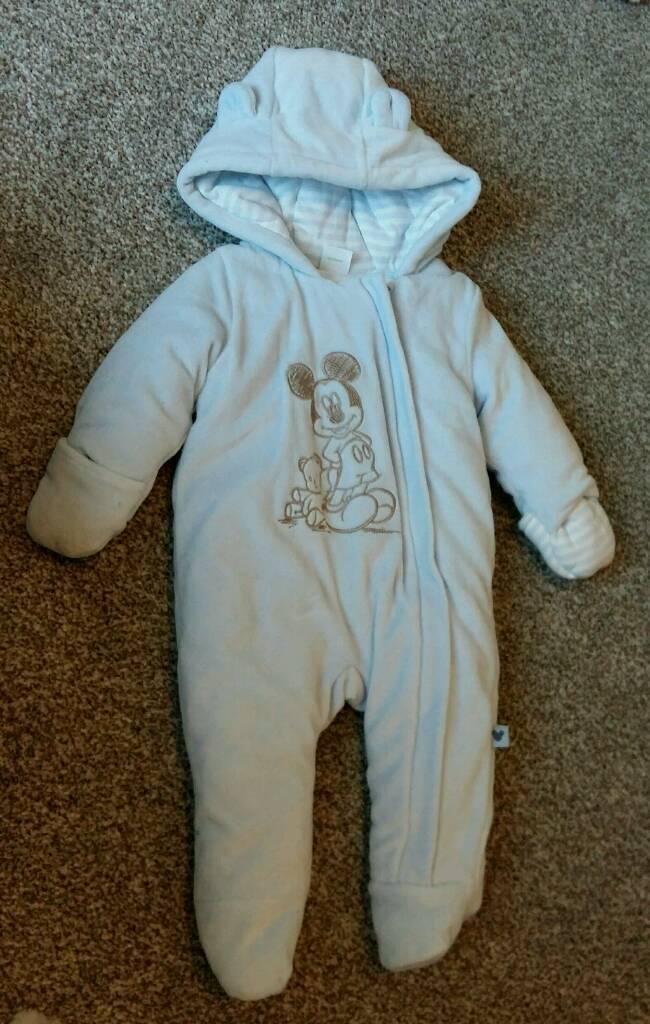 228cac74c Very warm Disney baby snowsuit