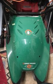 Electric lawn mower Black and Decker