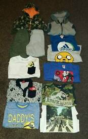 Boys bundle of clothes age 5-6 years 12 items