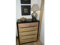 Retro 1960's Chest of 5 drawers