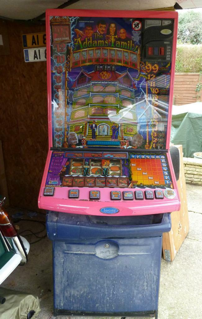 igt addams family slot machine for sale