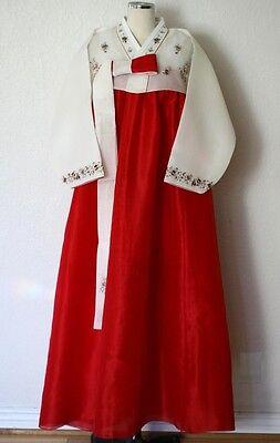 Korean Traditional Custom Made Dress Hanbok for Bride, Wedding, Special occasion
