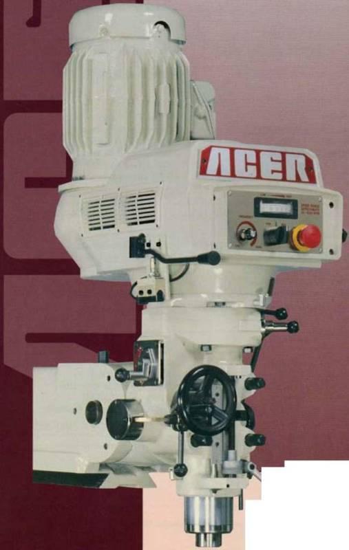 BRAND NEW ACER E-MILL HEAD - BRIDGEPORT TYPE