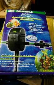 CO2 night automatically off device for tropical fish tank