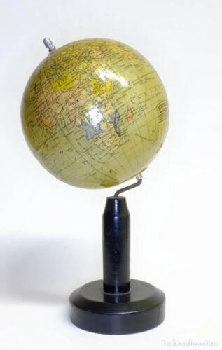 1914ca - Miniature Scholar Terrestrial Globe - Columbus Verlag