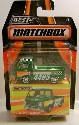 1966 66 Dodge A100 Pickup Truck Best Of Matchbox Rubber Tires Rr Diecast 2016