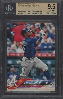 2018 Topps Update #US250 Ronald Acuna Jr RC Rookie Gem Mint BGS 9.5