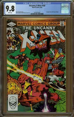 Adult X Men (Uncanny X-Men #160 CGC 9.8 1st Adult Illyana Rasputin)