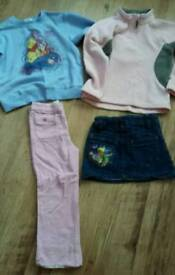 Girls jumpers, trousers & skirt age 5-6 yrs