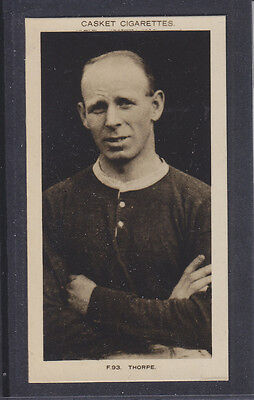 Pattreiouex - Famous Footballers 1922 - # 93 Thorpe - Blackburn