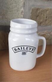 Baileys mason jar / mug, unused