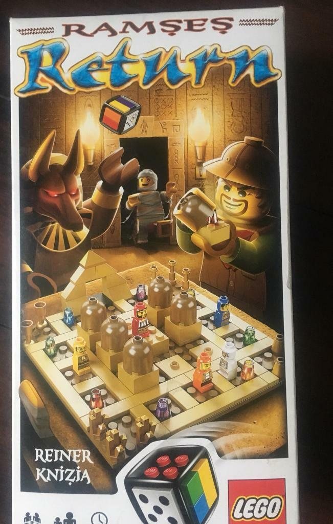 Lego Ramses Return Board game