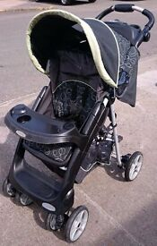Graco Quattro Tour Deluxe Pushchair with Raincover