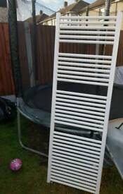 Central heating bathroom radiator