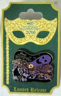 Disneyland Mickey's Not So Scary Halloween Party (2016 Disney Mickey's Not So Scary Halloween Party Event Logo Pin Limited)