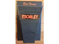 Morley Bad Horsie - Guitar Wah Pedal.
