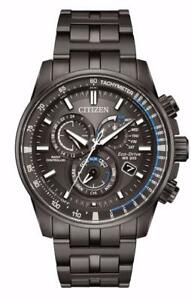 Citizen AT4127-52H Mens Eco-Drive Perpetual Calendar Stainless Steel Watch