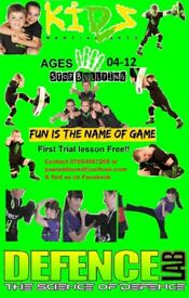 KIDS MARTIAL ARTS 4-12 Years