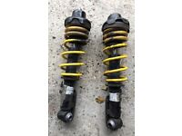 R50/r53/r56? Rear competition sports shock absorbers lowered Cooper s bmw JCW