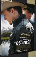 BROKEBACK MOUNTAIN, OS, GAY CLASSIC HEATH LEDGER, 2005