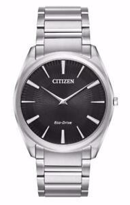 Mouse over image to zoom Have one to sell? Sell it yourself Citizen Eco-Drive Stiletto Stainless Steel Men's Watch AR30