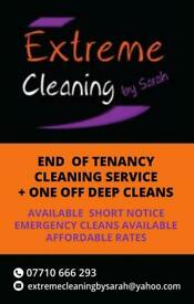 PROFESSIONAL END OF TENANCY CLEANING SERVICES, AFTER-BUILDERS , ONE OFF DEEP CLEANS All LONDON
