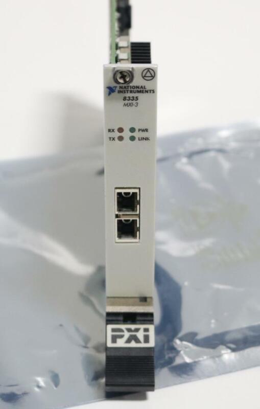 National Instruments 8335 MXI-3 184583G-02 Fiber Optic Interface