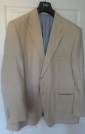 Marks and Spencer Light Beige Men's Summer Jacket
