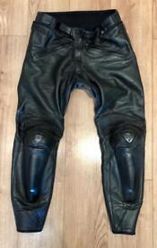 Dainese leather motorcycle / motorbike pants / jeans / trousers