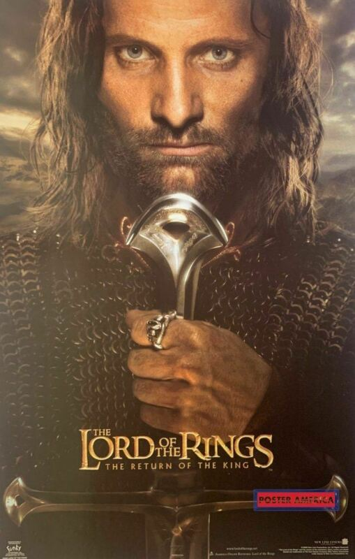 Lord of the Rings the Return of the King Official New Line Cinema Movie Poster 2
