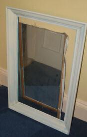 "Framed Mirror Frame size approx. 22"" x 33"" (56cm x 84cm)"