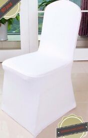 50 WEDDING CHAIR COVERS - Brand New