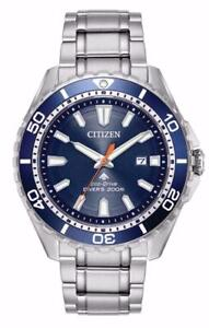 Citizen BN0191-55L Mens Eco Drive Promaster Stainless Steel 200M Diver Watch