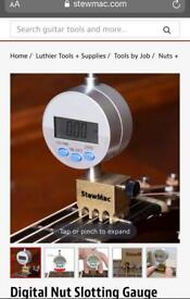 Stew Mac nut slotting gauge for most instruments